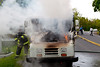 Mail Truck On Fire -  Myers Corners Rd near Blackthorn Loop - New Hackensack Fire District - 4/28/10 :